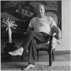Truman Capote 1981 by Robert Mapplethorpe 1946-1989