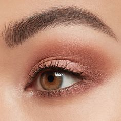 Swipe to learn how to get this beautiful rose quartz-inspired eye look w. Swipe to learn how to get this beautiful rose quartz-inspired eye Gold Eye Makeup, Makeup For Brown Eyes, Love Makeup, Simple Makeup, Makeup Inspo, Skin Makeup, Makeup Inspiration, Natural Makeup, Beauty Makeup