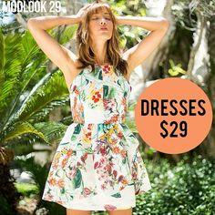 Gorgeous floral prints! Available at Modlood29.com