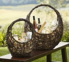 Grapevine Baskets | Pottery Barn - found the exact same basket at Target for $12.99!