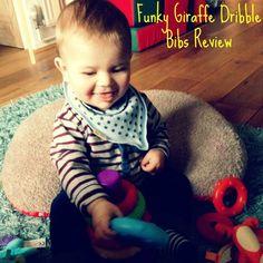 Funky Giraffe Bibs Review #dribblebibs Dribble Bibs, Giraffe, Charms, Blog, Bibs, Felt Giraffe, Giraffes, Blogging