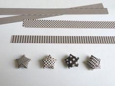 Comment fabriquer des étoiles en origami