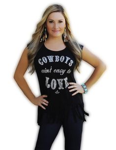 Ali Dee Collection - Cowboys Ain't Easy To Love, $42.00 (http://www.alideecollection.com/cowboys-aint-easy-to-love/)