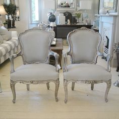 Antique French Chair Set from Farriers