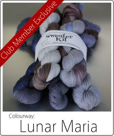Limited Edition yarns from SpaceCadet Mini-Skein colourways, available until May 30