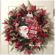 A personal favorite from my Etsy shop https://www.etsy.com/listing/556690704/christmas-wreath-rustic-christmas-wreath