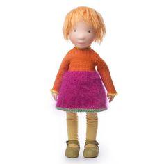 Fanny Handmade cloth doll partial payment от AldegondeCeelen