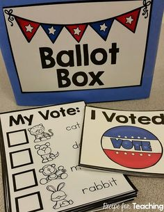Free Election Day Printables for Kindergarten! … Free Election Day Printables for Kindergarten! Preschool Classroom, Kindergarten Classroom, Classroom Activities, Classroom Ideas, Kindergarten Worksheets, Geography Worksheets, Preschool Prep, Kindergarten Rocks, Leadership Activities