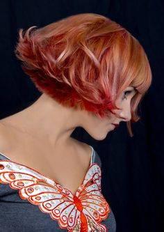Hair by Sharon nightingale GOLDWELL Australian colorzoom finalist 2012