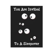 Boy Birthday Invitation... This would be cool made with googly eyes!