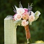 bouquet, pink and lavender