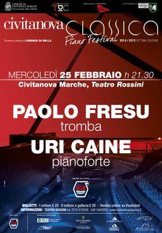 #PaoloFresu e #UriCaine il 25 febbraio al #TeatroRossini. Il concerto dei due grandi interpreti del #jazz #moderno saranno il prossimo appuntamento del #CivitanovaClassicaPianoFestival http://www.tdic.it/paolo-fresu-e-uri-caine-al-civitanova-classica-piano-festival/