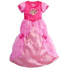 Disney Store Princess Nightgown Costume Size Small 5/6: Ariel, Rapunzel, Jasmine *** Find out more about the great product at the image link.
