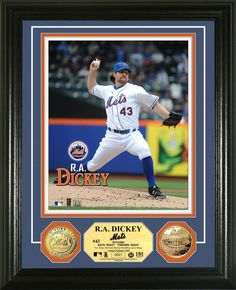 AAA Sports Memorabilia LLC - R.A. Dickey Gold Coin Photomint, $99.95 (http://www.aaasportsmemorabilia.com/mlb/new-york-mets/r-a-dickey-gold-coin-photomint/)