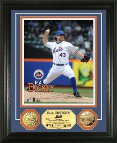 AAA Sports Memorabilia LLC - R.A. Dickey Gold Coin Photomint, $99.95 (http://www.aaasportsmemorabilia.com/mlb/new-york-mets/r-a-dickey-gold-coin-photomint/)