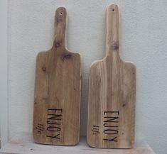 Broodplank met tekst - Cadeau van hout