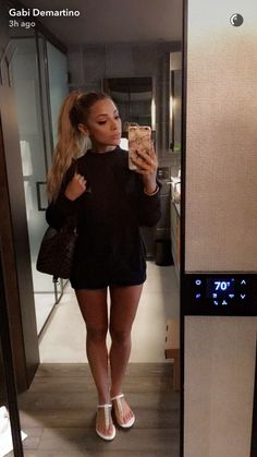 @QueenLikeKat✨ Girly Outfits, Dope Outfits, Love Her Style, Fashion Line, Girl Fashion, Fashion Outfits, Gabriella Demartino, Gabi And Niki, Cinderella Slipper