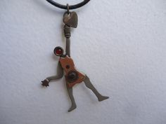 Rare Vintage Copper Movable Necklace by GrannysInspirations, $15.00