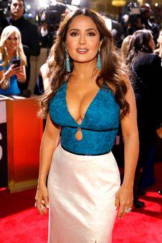 Golden Globe Award, Golden Globes, Telenovela Teresa, Salma Hayek Pictures, Gucci Gown, Monica Belluci, Red Carpet Makeup, Selma Hayek, Mexican Actress