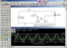 Free Circuit Simulator-Circuit Design and Simulation Software List Circuit Design Software, Electronic Circuit Design, Electronic Engineering, Hobby Electronics, Electronics Basics, Electronics Projects, Useful Arduino Projects, Circuit Simulator, Schematic Design