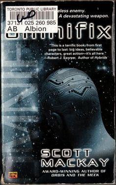 Omnifix by Scott MacKay Science Fiction Novel Book 0451459601