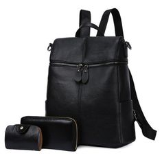 GET $50 NOW | Join RoseGal: Get YOUR $50 NOW!http://www.rosegal.com/satchel/front-zips-pu-leather-backpack-1154009.html?seid=6822905rg1154009