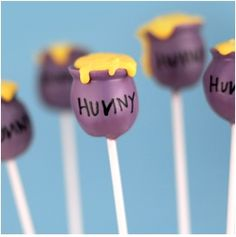 Image detail for -... Winnie The Pooh Hunny Pot Cake Pops | Your Childrens Birthday Parties