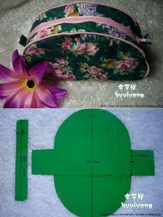 Косметичка - шьем самиMeasure with crochet bags...<3 Deniz <3