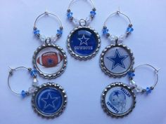 NFL and College Team wine charms, pick your team we have them all just ask..