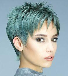Haircuts For Fine Hair, Short Pixie Haircuts, Cut Hairstyles, Pixie Haircut Styles, Style Hairstyle, Bob Haircuts, Short Funky Hairstyles, Decent Hairstyle, Pixie Cut Styles