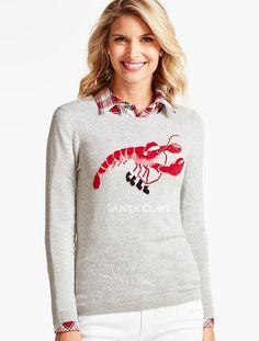 """""""Santa Claws"""" Sweater - Talbots"""