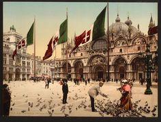 Venice 125 Years Ago: The Rialto Bridge, St.