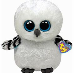 27fe9de72a2 Oscar The Owl is an adorable white owl from Ty Beanie Boos. It has big blue  sparkly eyes and blue and purple plush. Order your TY cuddly toys online or  by ...