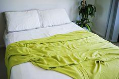 organic bamboo blanket & linen. must. have. yohome.com.au