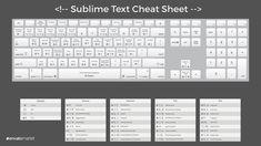 sublime text cheatsheet wallpaper desktop editor code