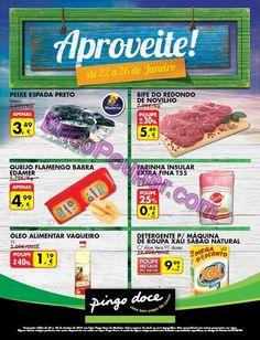 Antevisão Promoções Folheto Pingo Doce - de 23 a 26 de Janeiro - Madeira - Monofolha fim-de-semana