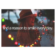 I Will ALWAYS Have a Reason to Smile!