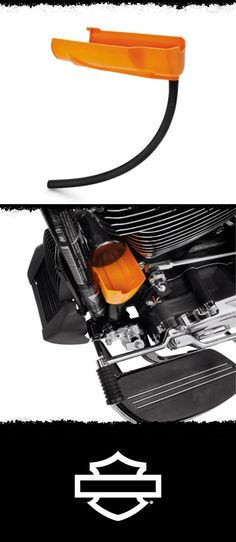 Reduce oil drips when removing the oil filter. | Harley-Davidson Oil Catcher Drain Oil Funnel