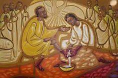 A última ceia Jesus nos falou para encontrá-lo no Cenáculo. Ele nos mandou na frente para que encontrássemos o lugar e preparássemos a sala onde iríamos comer a ceia. A maneira como a sala estava disposta e como a encontramos era bem estranha. Estranhas e até mesmo absurdas pareceram também as orientações que ele nos deu para que executássemos as suas ordens. Ele nos disse simplesmente isso: Procurai em Jerusalém um rapaz carregando água.