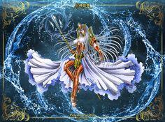 Seraphine Poseidon, Lost Canvas