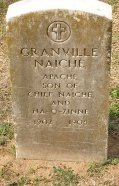 Granville  Naiche. He was the younger son of Chiricahua Apache chief Cochise.  Mescalero Indian Cemetery, Mascalero, New Mexico.  Find A Grave