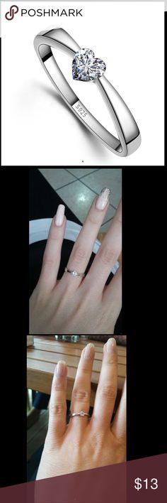 S925 Sterling silver ring 925 Sterling silver ring Jewelry Rings