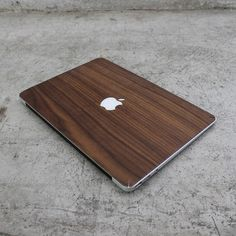 Real Walnut Macbook Wood Skin by AlvinIndustries on Etsy, $25.00
