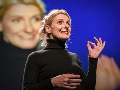 Elizabeth Gilbert's first talk on creativity. I still go back and watch this TED talk. It's wonderful.