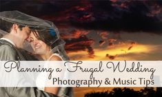 Photography, music and video can all be tough to save money on for a wedding.  Here are some tips for frugal wedding photography and more.