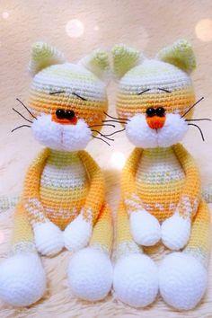 FREE amigurumi pattern #amigurumipattern #amigurumi #crochettoy #crochetcat #amigurumicat #crochetpattern #amigurumidoll #freeamigurumipattern