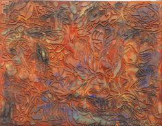 """""""Enchilado"""", del oaxaqueño Luis Zárate. Óleo sobre tela."""