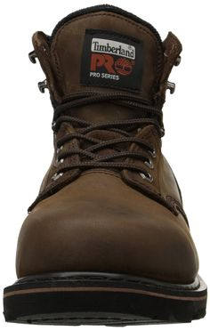 51d98d75 Timberland PRO Mens Pitboss 6 SoftToe Boot Brown 12 W >>>
