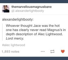 why can't he be a freewheeling bisexual like Magnus now only dudes get his glory