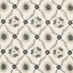 Claremont Embroidery | 65743 | in Grisaille